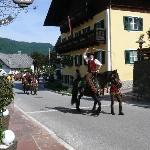 Parade in Kuchl