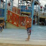 View of water playground