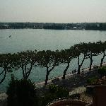view of lake from hotel