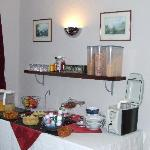 Rothay House Buffet table