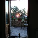  sunset from the bedroom