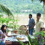 Breakfast on the river at ChitDara2