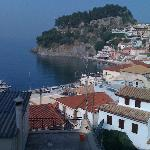 Parga from the Balcony