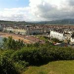 View of Llandudno from Hill Terrace