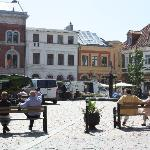  Ystad town square