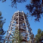 Fire tower.not for the faint hearted.
