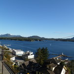 Ketchikan Harbor From Bear Room Balcony