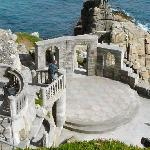 Minack theatre stage