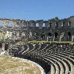 Ampitheatre in Pula - well worth a visit