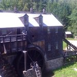 very cool view of the old mill