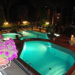 "La piscina ""by night"""