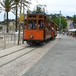 le petit train au port de Soller