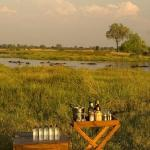 a private community run concession on the eastern border of the Moremi Game Reserve along the ri