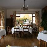 Broadlands Bed and Breakfast Dining room