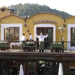  View of Restaurant Balcony