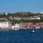 View of Oban from the ferry