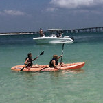 Destin Snorkel has kayaks available as well