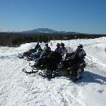 Stay at White Wolf Inn if you love to Snowmobile!