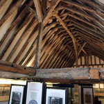 The museum's fine timber roof
