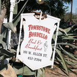 Tombstone Bordello Bed and Breakfast resmi