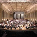  the Cleveland Orchestra and Chorus in the main hall