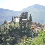 Overlooking Barga