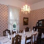 Dinning Room where Breakfast is served