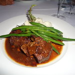 Short ribs with mashed potatoes
