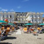  L&#39;hotel dalla spiaggia