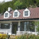 Front view of the B & B