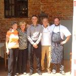  the owners family and chef