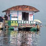 Floating Shop at Dal Lake