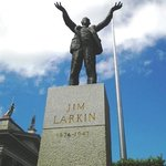 Jim Larkin Statue on O'Connell Street