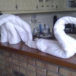 Towel figures @ Seashell Hotel