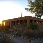  Hilltop Hacienda at sunset...