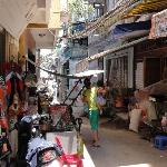 The My Home alley off Bui Vien - Nha Toi is My Home