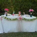  sweet heart table