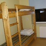 The twin dorm rooms