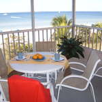 Beach Front Screened Balcony