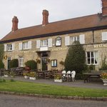 white horse inn , peaceful get away