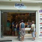 Fresko Yogurt Bar in Athens