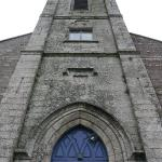 The front doors of St. Mary's Cathedral in New Ross