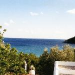 Sea view from a cottage