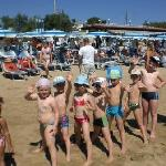  animazione in spiaggia