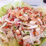 You've never had ceviche this fresh or this good...I promise!