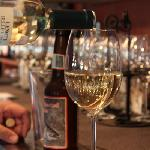 We serve wines of all kinds and craft beers