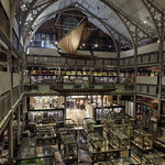 Interior view of the Pitt Rivers Museum. Copyr