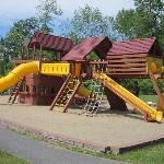 Huge outdoor playground