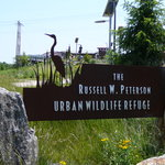Sign at Russell W. Peterson Wildlife Refuge