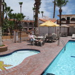  El Capitan Hotel, San Felipe Pool area